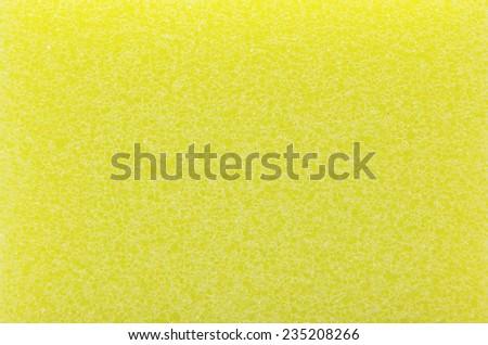 Dishwashing sponge detail  of home - stock photo