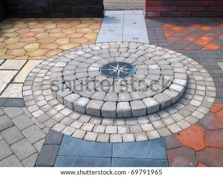 Display Different Design Stone Floor Tiles Stock Photo Edit Now