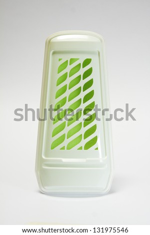 Disposable air freshener against a white background - stock photo