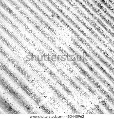 Distress Linen Texture. Aged Canvas Overlay Background. Grunge Grainy Texture. Empty Design Element. - stock photo