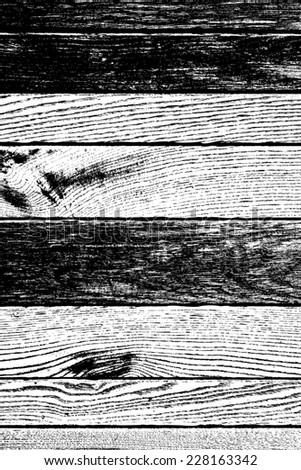 Distress Wooden Overlay Grainy Texture For Your Design. - stock photo