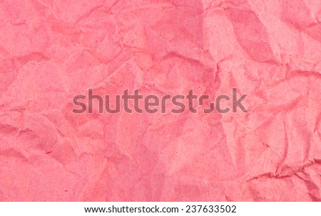 Distressed and weathered red paper background texture - stock photo