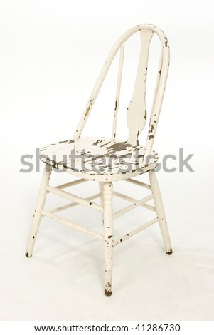 Distressed Chair - stock photo
