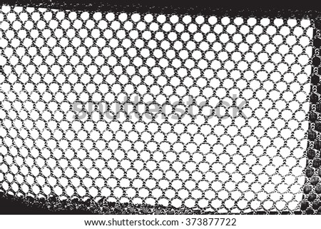 Distressed Grid Overlay Texture for your design. - stock photo