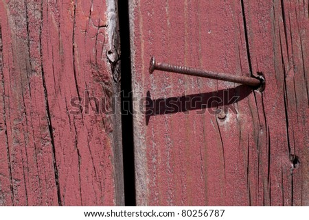Distressed rough weathered wood. - stock photo