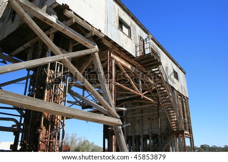 Disused Mine in Broken Hill, Australia