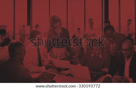 Diverse Business People Working Together Concept
