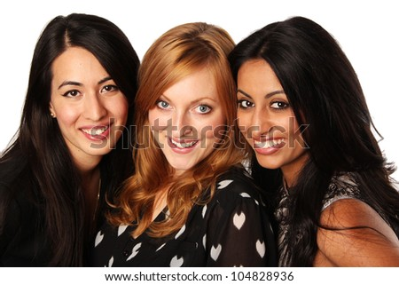 Diverse Group of Girlfriends