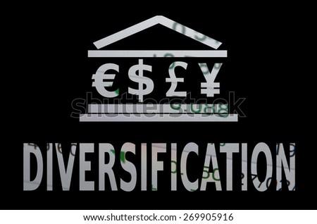 Diversification - stock photo