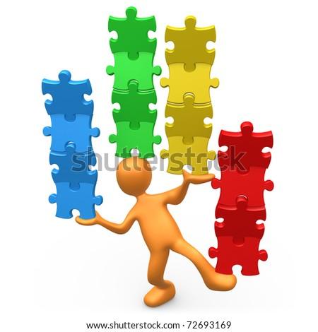 Diversity - stock photo