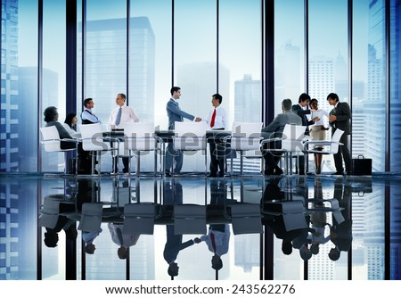 Diversity Business People Coorperate Professional Team Concept - stock photo