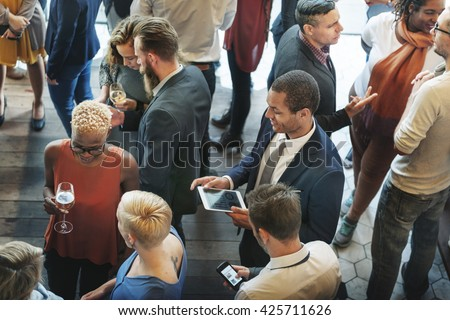 Diversity Friends Meeting Community Discussion Concept - stock photo