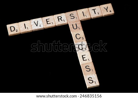 Diversity is the key to success - stock photo