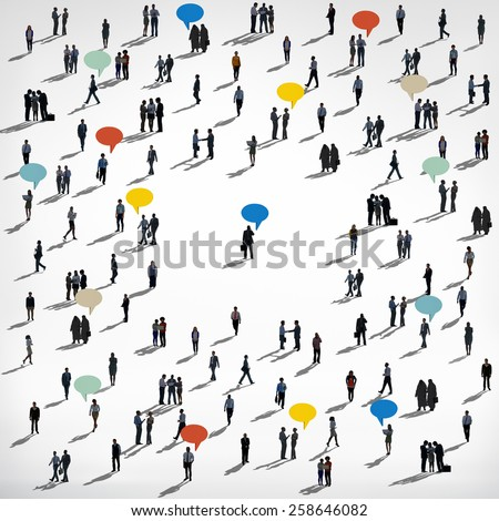 Diversity Variation Community People Communication Concept  - stock photo