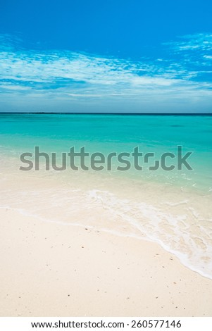 Divine Coastline Vacation Wallpaper  - stock photo