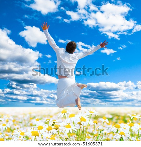 Divine Nature only for me - stock photo