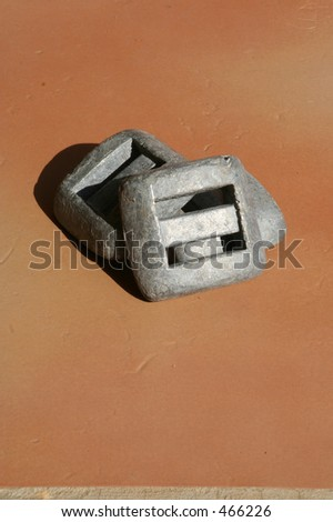Diving Weights - stock photo