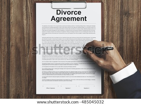 DivorcePapers Stock Images RoyaltyFree Images  Vectors