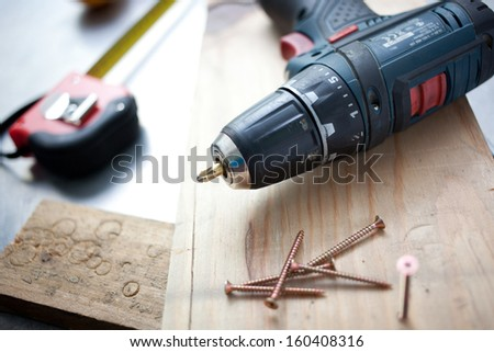 Diy tools concept - stock photo