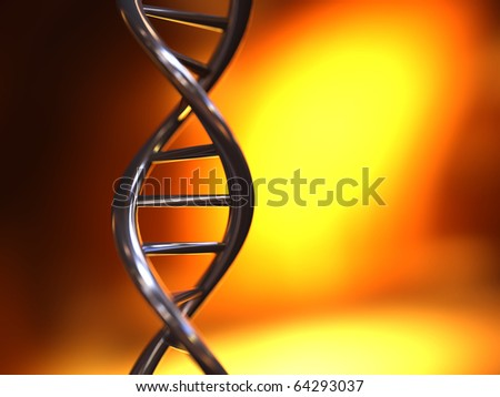 DNA - stock photo