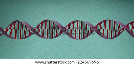 DNA helix cell structure molecule