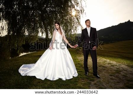 Do not hesitate to marry me - stock photo