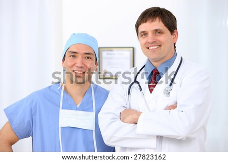 Doctor and Surgeon portrait