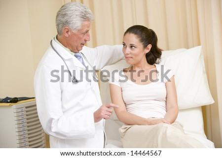 Mature wife exam