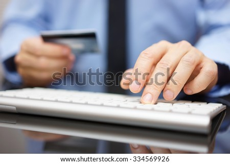 doctor in office working with  tablet computer - stock photo