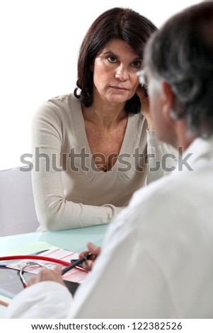 Doctor's appointment - stock photo