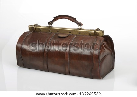 doctor's bag - stock photo