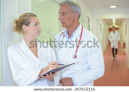 doctors on the hallway