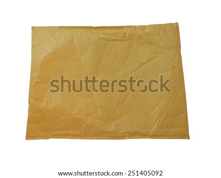 Document envelope - stock photo