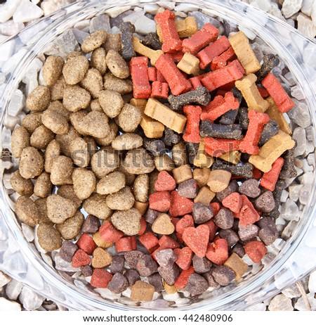 Dog bone and dog candy  - stock photo
