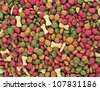 Dog food - stock photo