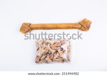 dog food - stock photo