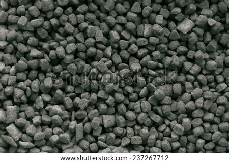 Dog Food surface is a grain - stock photo