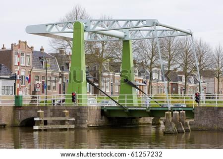 Dokkum, Friesland, Netherlands - stock photo