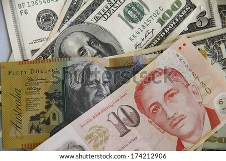 Dollar Notes - stock photo