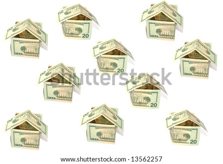 dollar's abstract bungalow background