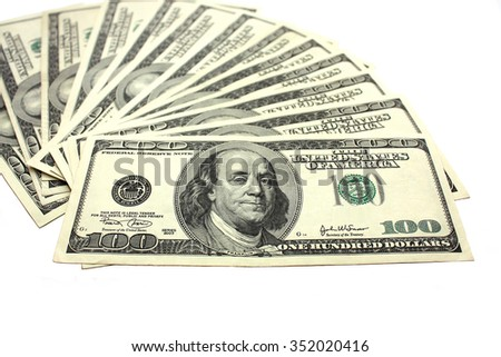 Dollars, money  - stock photo