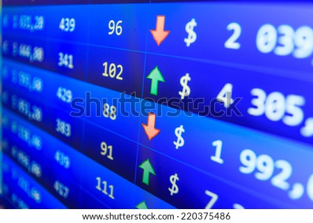 Live forex rate ticker