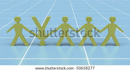 dolls - stock photo