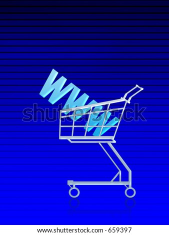 Domain address buy. Blue lined background