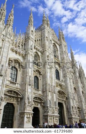 Dome of Milan - stock photo