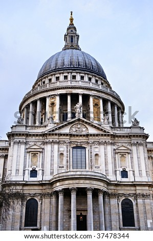 Dome of St. Paul's Cathedral in London