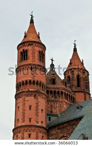 dome of Worms - stock photo