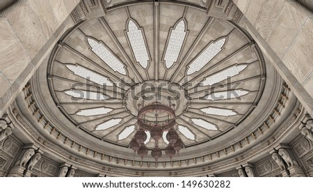 dome type ceiling