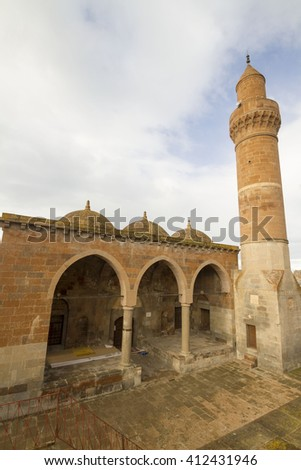 domes and minaret