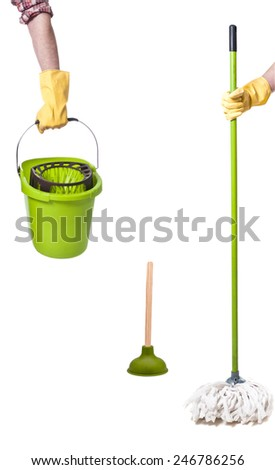 domestic life - stock photo